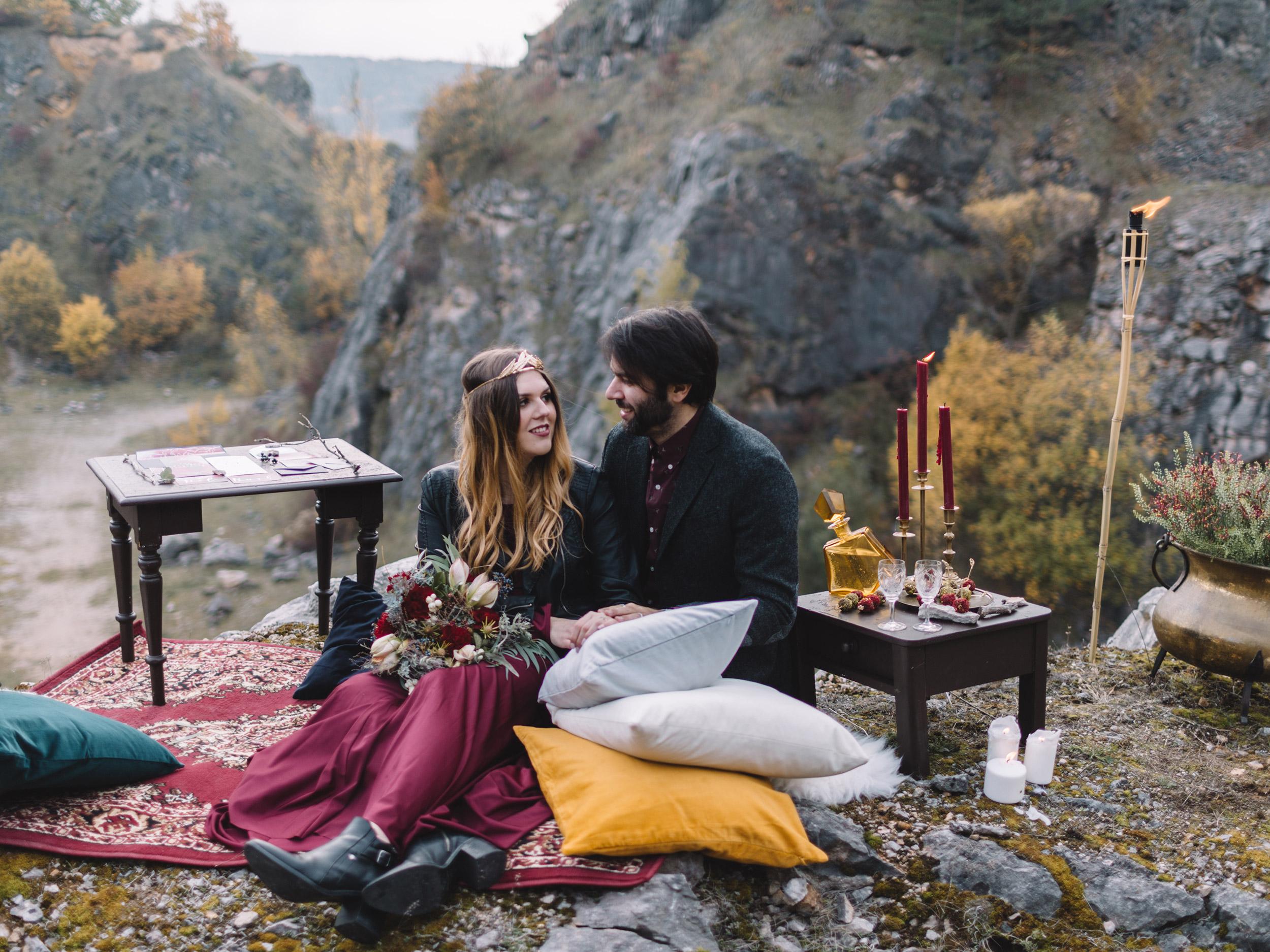 O pikniku v opuštěném lomu